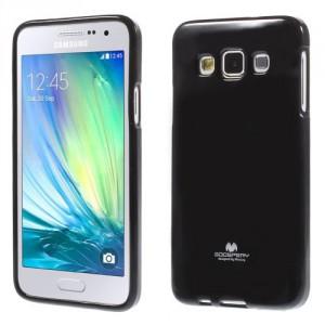 Obal Jelly Case - Galaxy A3 - Černý lesklý třpytivý