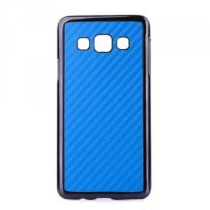 """Kryt / Obal """"Carbon"""" - modrý - Galaxy A3"""