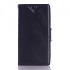 Koženkové pouzdro Wallet - Xperia E3 - černé 02