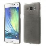 Pouzdro / Obal - Broušený vzor, šedý - Galaxy A5