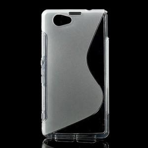 Obal S-Curve Xperia Z1 Compact - Průhledný