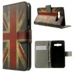 Koženkové pouzdro - Union Jack - Galaxy A3