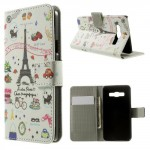 Koženkové pouzdro - Eiffelovka 03 - Galaxy A3