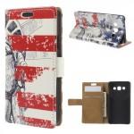 Koženkové pouzdro - Socha Svobody - Galaxy A3