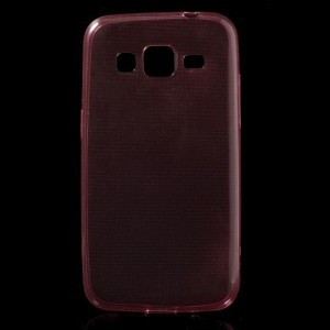 Tenké pouzdro 0,6mm - červené - Galaxy Core Prime G360