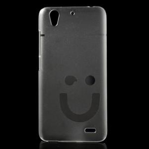 Kryt Smiling Face - Průhledný - Ascend G630