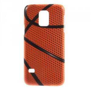 Zadní kryt / Obal - Galaxy S5 Mini G800 - Basketbalový míč