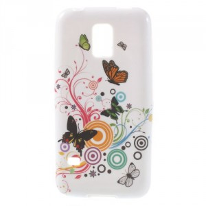 Pouzdro / Obal - Motýl 04 - Galaxy S5 Mini G800