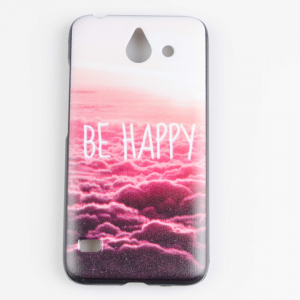 """Kryt / Obal """"Be Happy"""" - Ascend Y550"""