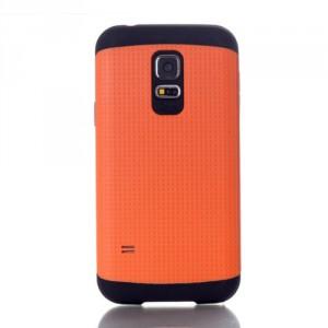 Dvoudílný kryt - Galaxy S5 Mini G800 - oranžový