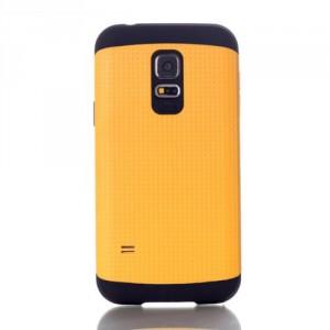 Dvoudílný kryt - Galaxy S5 Mini G800 - žlutý