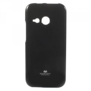 Pružné pouzdro Jelly Case - HTC One Mini 2 - černé třpytivé