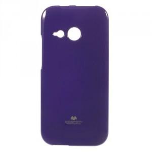 Pružné pouzdro Jelly Case - HTC One Mini 2 - fialové třpytivé