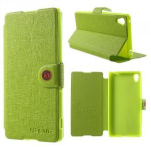 Lehké pouzdro Wallet - Zelené - Xperia Z3+
