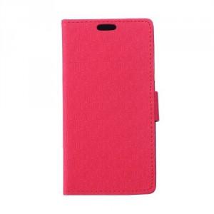 Pouzdro Wallet - Růžové vzorované - Xperia E4g