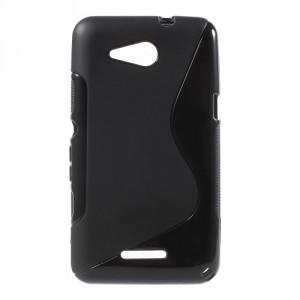 Pouzdro S Line - Xperia E4g - černé