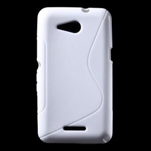 Pouzdro S Line - Xperia E4g - bílé
