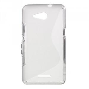 Pouzdro S Line - Xperia E4g - šedé