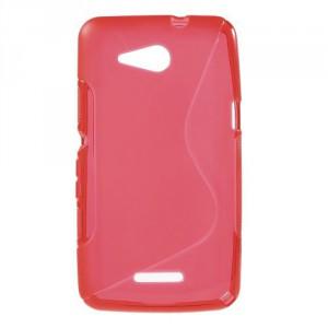 Pouzdro S Line - Xperia E4g - červené