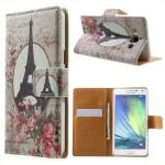 Pouzdro Wallet - Eiffelovka 02 - Galaxy A5