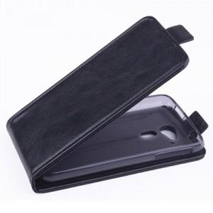 Koženkové pouzdro Flip - Černé - Acer Liquid Z4