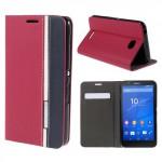 Pouzdro Wallet - Xperia E4 - červené-bílé-modré
