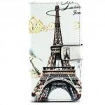 Pouzdro Wallet - Eiffelovka 03 - Galaxy A5