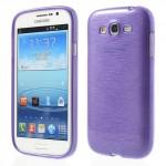 Zadní kryt - Broušený vzor, fialový - Galaxy Grand Neo Plus