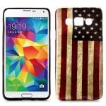 Pouzdro / Obal Galaxy A3 - Vlajka USA