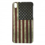 Kryt / Obal - HTC Desire 816 - Vlajka USA