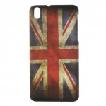 Kryt / Obal - HTC Desire 816 - Union Jack