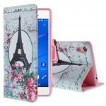 Koženkové knížkové - Xperia Z3 - Eiffelovka