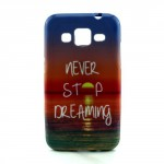 Pouzdro / Obal - Galaxy Core Prime - Never stop dreaming 03
