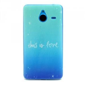 Tenké pouzdro - Lumia 640 XL - This is love