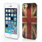Pouzdro / Obal - iPhone 5/5S - Union Jack