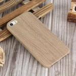 Pouzdro / Obal - iPhone 5/5S - Světlé dřevo