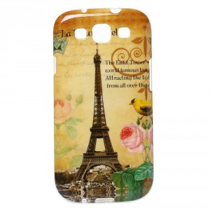 Pouzdro / Obal - Galaxy S3 i9300, i9301 - Eiffelovka 03