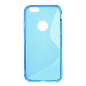 Pouzdro / Obal S-curve - iPhone 6 - modré