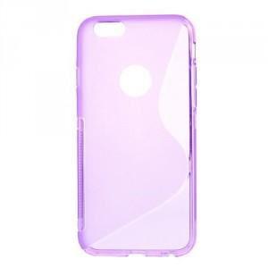 Pouzdro / Obal S-curve - iPhone 6 - fialové