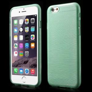 Pouzdro / Obal - Broušený vzor, zelený - iPhone 6