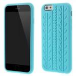 Pouzdro / Obal Silikon - iPhone 6 - Modrá pneumatika