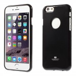 Obal Jelly Case - iPhone 6 - Černý lesklý třpytivý