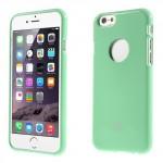 Obal Jelly Case - iPhone 6 - Tyrkysový lesklý třpytivý