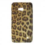 Pouzdro / Obal - Lumia 640 - Levhart