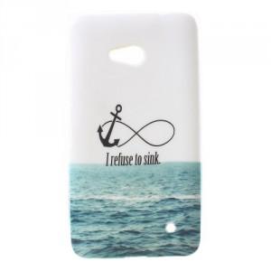 Pouzdro / Obal - Lumia 640 - I refuse to sink