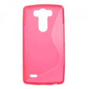 Pouzdro / Obal S-curve - Růžové - LG G3s