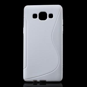 Pouzdro / Obal S-curve - Bílé - Galaxy A5