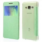 Tenké pouzdro S-view - Galaxy A5 - zelené