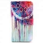 Koženkové pouzdro - Galaxy S5 i9600 - Lapač snů 02