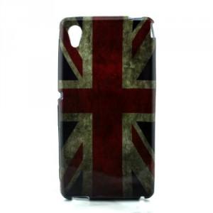 Pouzdro / Obal - Xperia M4 Aqua - Union Jack
